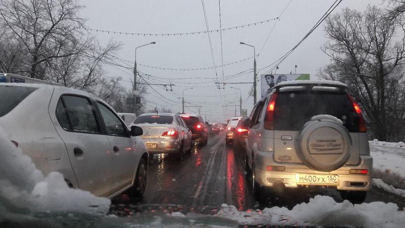 В столице прогнозируется ухудшение транспортной обстановки из-за непогоды