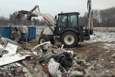 Около 70 кубометров отходов вывезли со свалок Люберец за неделю
