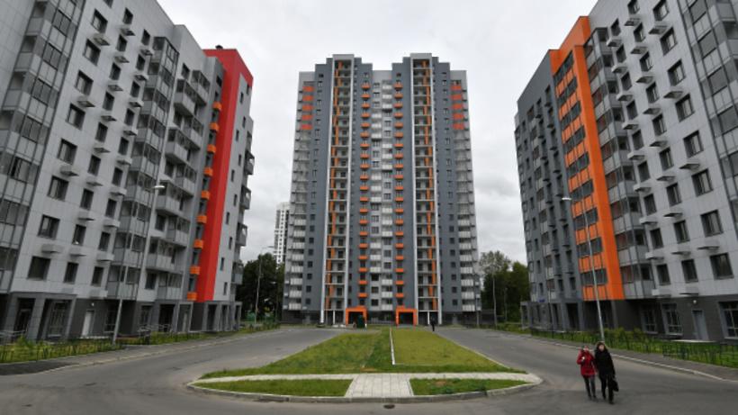 В районе Очаково‑Матвеевское в Москве начали строительство дома по реновации