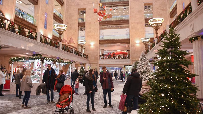 В Российской Федерации покупают наНовый год мобильные телефоны, косметику иконструкторы