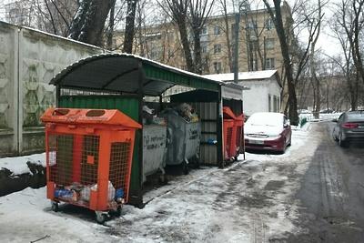 Контейнерные площадки для раздельного сбора мусора поставят у домов в Подмосковье к 2019 г