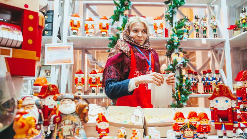 Нафестивале «Путешествие вРождество» в столице можно будет купить новогодние сувениры