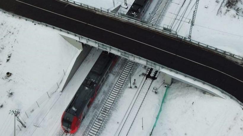 Реконструкцию Богородского путепровода через МЦК завершили в российской столице