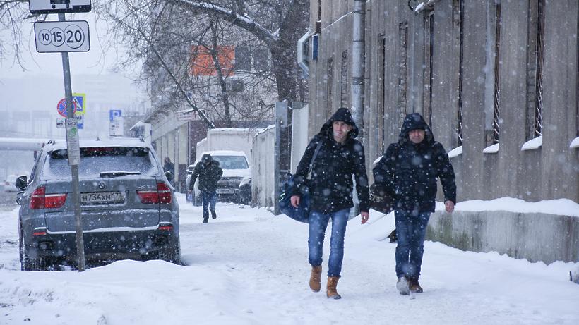 В столицеРФ предполагается самый сильный засто лет февральский снегопад