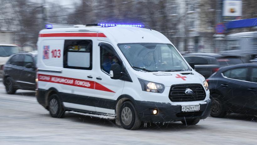 Рейсовый автобус сбил пешехода насевере столицы