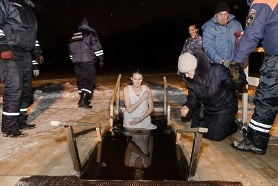 Опубликован список мест для крещенских купаний в Подмосковье