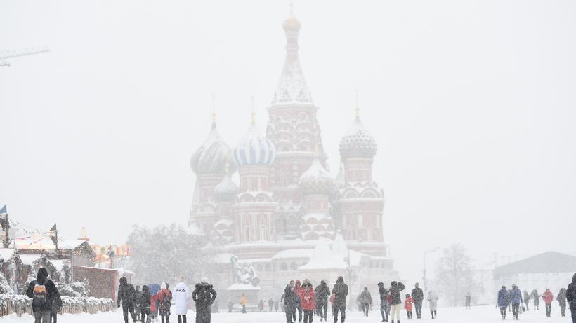 Около 8% месячной нормы осадков выпадет российской столице вчетверг