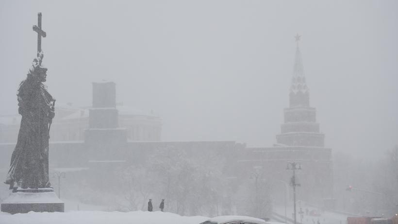 В российской столице штормовое предупреждение остается всиле допонедельника— МЧС