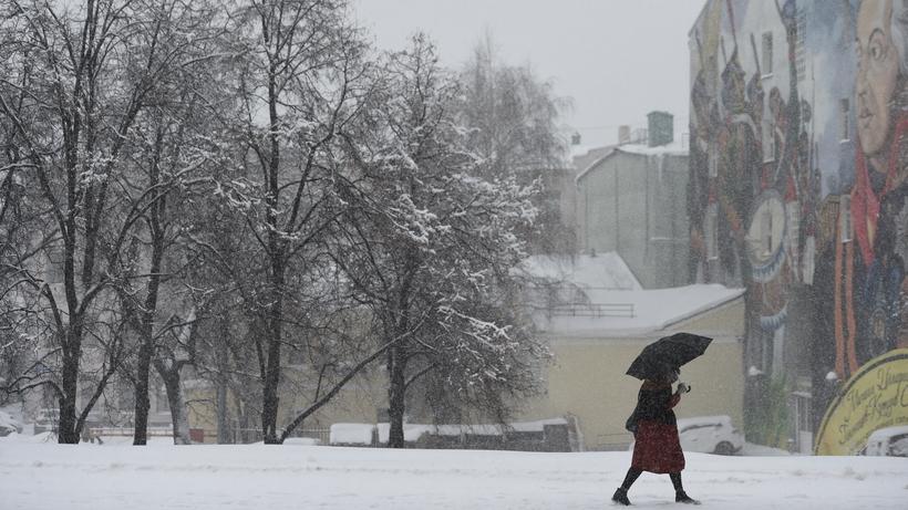 Снегопад принес в Москву 17% от месячной нормы осадков