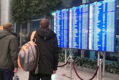 Почти 30 рейсов отменили и задержали в аэропортах Москвы в субботу
