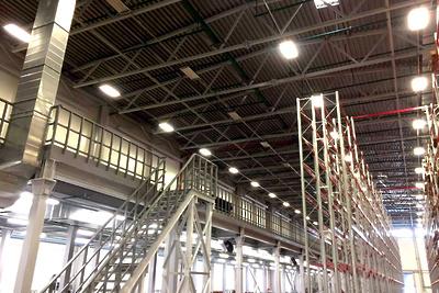 Строительство производственно‑торгового комплекса завершили в Мытищах