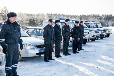 Полицейские из Орехово‑Зуева получили телевизоры за победу в автогонках