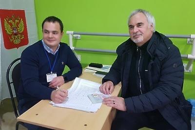 Валерий Меладзе проголосовал на выборах президента РФ в Красногорске