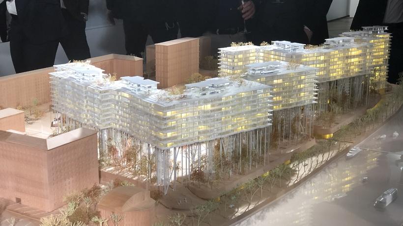 В столицеРФ наместе Бадаевского завода построят «парящие дома»