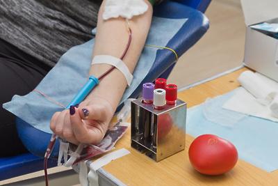 Доноры в Красногорске сдали более 400 л крови с начала года