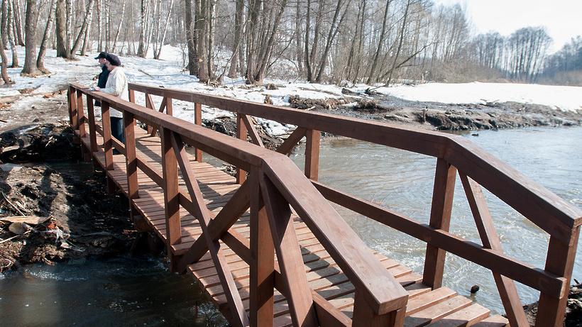 Уровень воды в реках Подмосковья повысился почти на 2 метра–Общество–РИАМО