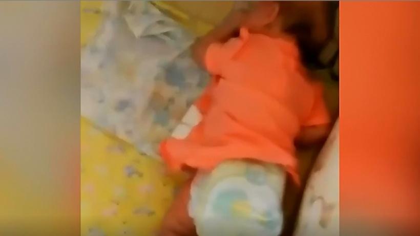 Пьяная москвичка сняла избиение трехмесячной дочери навидео