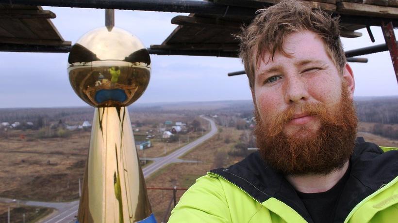Реставратор куполов из Коломны: не витать в облаках и любоваться видами