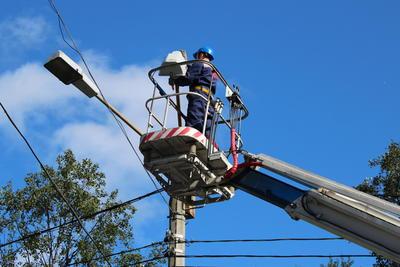 Освещение на аллее в микрорайоне Львовский Подольска восстановят до 11 июля