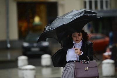 Больше половины от месячной нормы осадков выпало в Москве с начала июня