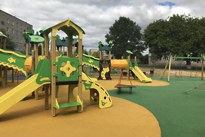Около 90 детских площадок установили в Подмосковье по программе губернатора в 2018 году