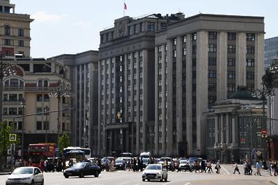 Специалисты допустили, что грунт под зданием Госдумы был размыт Неглинкой