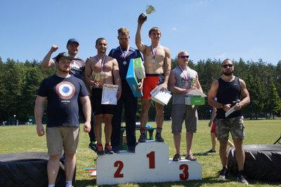 Команда «Гривно» заняла первое место в турнире по многоборью в Подольске
