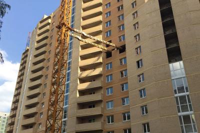 Строительство двух домов на улице Тихонравова в Королеве идет с опережением графика