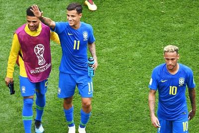 Бразилия обыграла Коста‑Рику на матче ЧМ со счетом 2:0
