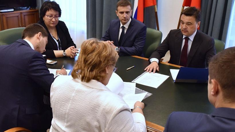 Воробьев подал документы на регистрацию кандидатом на пост губернатора Подмосковья