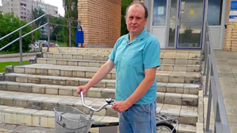Почтальону из Коломны жители подарили велосипед