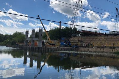 Мост через Нару в Серпухове могут открыть в 2018 году