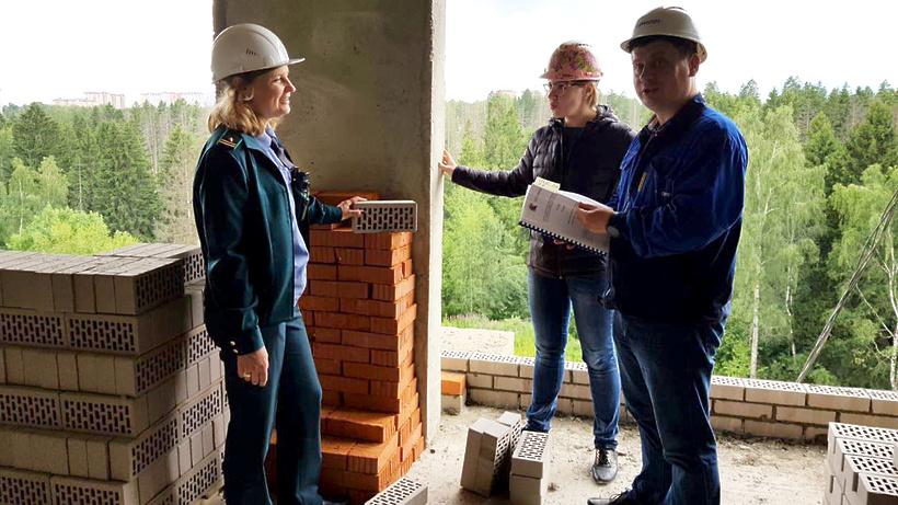 ВХимках строят два 17-этажных дома