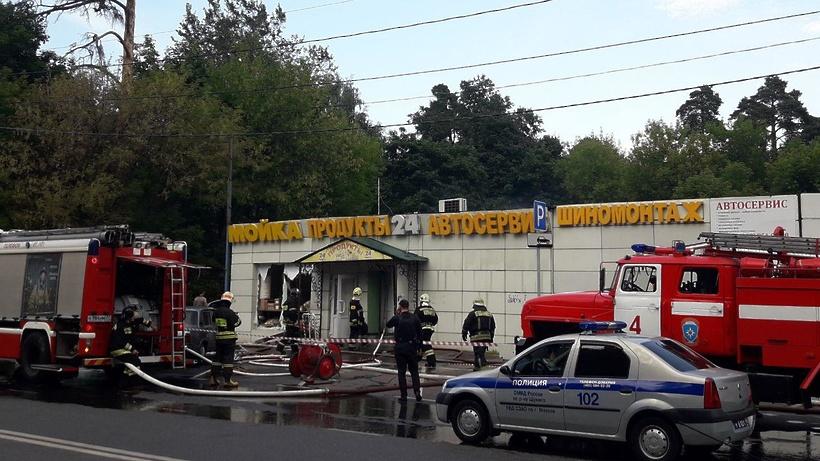 В столице произошел взрыв вкафе, есть пострадавшие