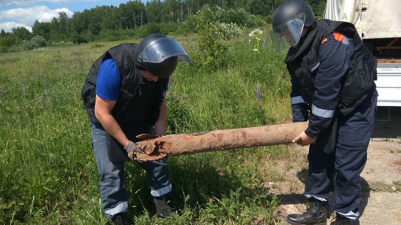 Около 50 снарядов времен ВОВ нашли в Шаховской