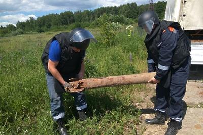 Два боеприпаса времен ВОВ нашли в Можайском округе