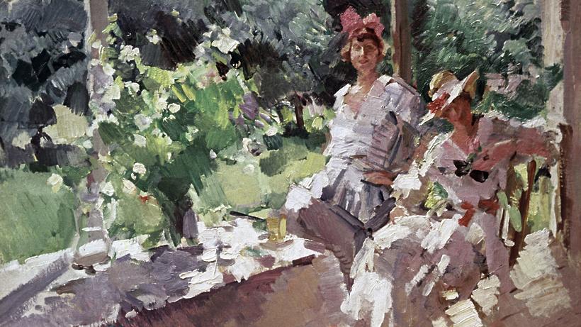 ВоФранции продали картину Коровина за560 тыс. евро
