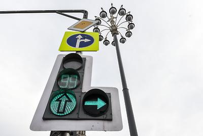 В Королеве до 1 сентября оборудуют светофорами 14 переходов у школ