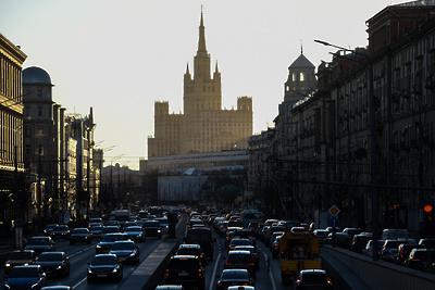 Москва выбыла из пятерки городов с наиболее загруженными дорогами