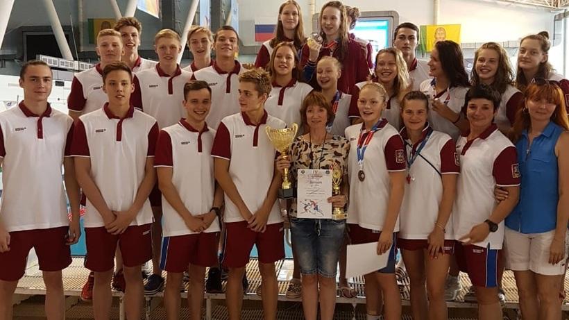 12 наград выиграли пловцы изПодмосковья наСпартакиаде молодежи
