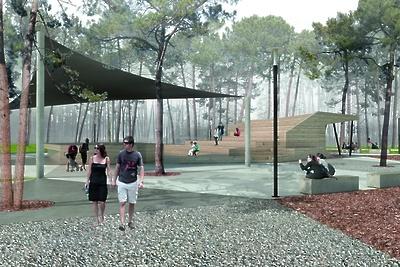 Благоустроенную часть Пестовского парка в Балашихе открыли для посетителей