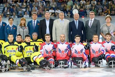 Подмосковный клуб «Феникс» стал победителем международного турнира по следж‑хоккею