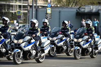 Более 100 мотоинспекторов начнут патрулировать дороги в Подмосковье