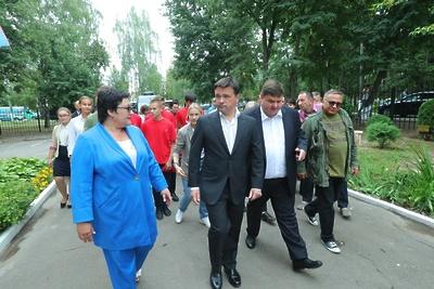 Воробьев дал старт съемкам фильма «Ильинский рубеж» в Подольске