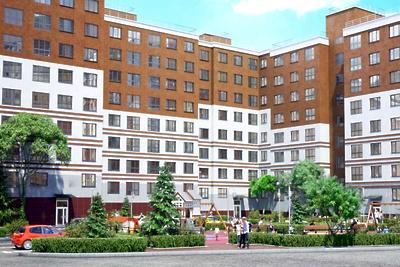 В жилом комплексе «Малина» в Красногорске завершили строительство дома на 25 квартир