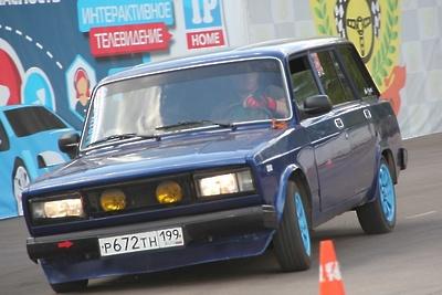 В Люберцах определили победителей Кубка Победы по автослалому