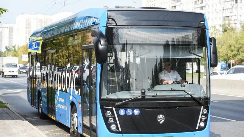 Москва перейдет наэлектрический публичный транспорт через 13 лет