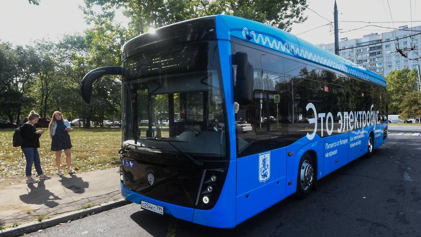 Через 12 лет весь публичный транспорт столицы будет электрическим