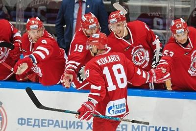 Главный тренер хоккейной команды Подольска не имеет претензий к игре с ХК «ЦСКА»