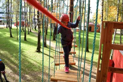 Комплекс «Голландская деревня» с веревочным парком появится в парке Талалихина Подольска